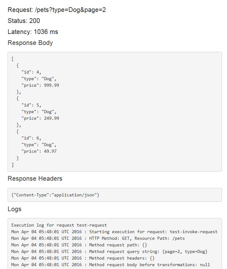 TUTORIAL: Build an API with HTTP Non-Proxy Integration - Amazon API