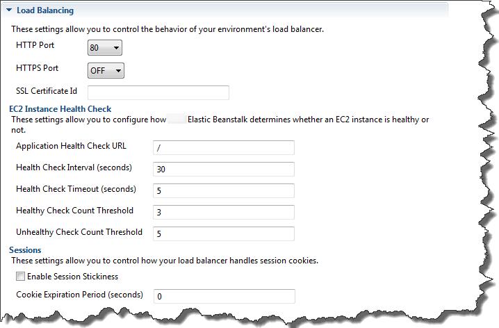 elastic beanstalk single instance ssl