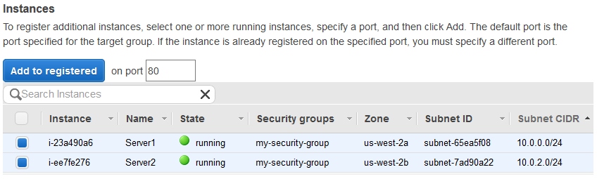 Register Targets with Your Target Group - Elastic Load Balancing