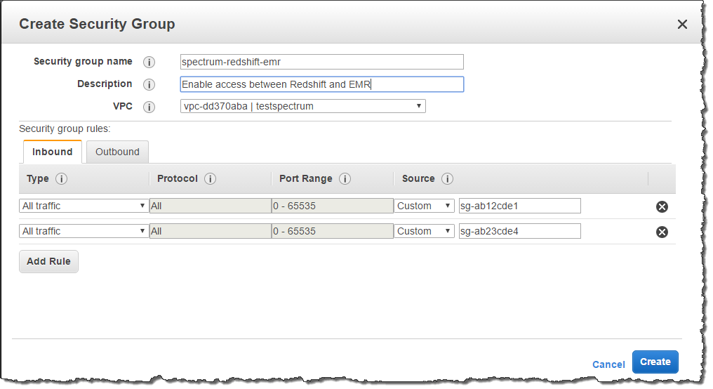 Creating External Schemas for Amazon Redshift Spectrum - Amazon Redshift